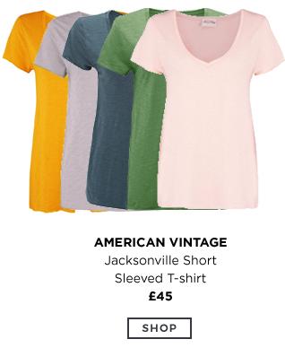 American Vintage - Jacksonville Short Sleeved T-Shirt