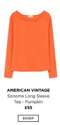 American Vintage - Sonoma Long Sleeve Tee