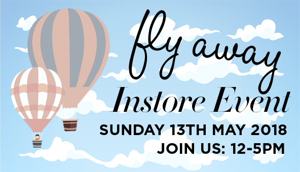 Fly Away - Instore Event - Sunday 13th May 2018
